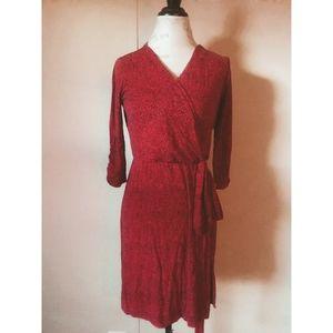 Lucky Brand faux wrap dress
